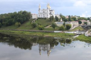 Colpo d'occhio dal Kirovski Bridge - lato sinistro