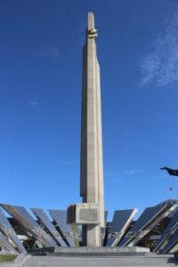 Dettaglio dell'Obelisco