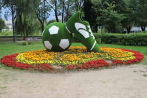 Dinamo Stadium - Decorazione a tema in zona