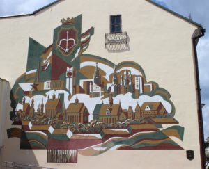 Dipinto Murale su Sovietskaya