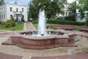 Fontana a Vitebsk