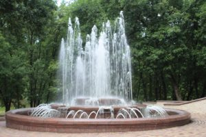 Fontana nel Frunze Park