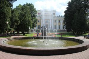 Fontana nel Gomel Park