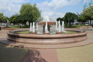 Fontana su Piazza Sovietskaya
