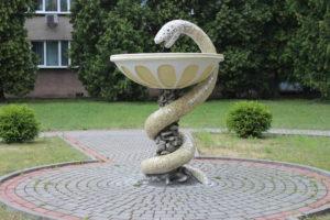 Fontanella a forma di serpente