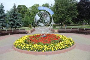 Globo delle città gemellate con Grodno