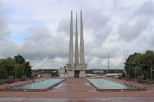 Memoriale Le Tre Baionette - corpo centrale
