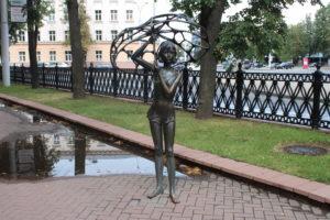 Michajlaŭski Garden Square - 1