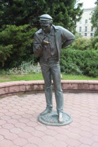 Michajlaŭski Garden Square - 3