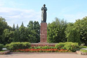 Monumento a Francysk Skarina