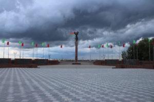 Monumento ai Combattenti per il potere sovietico - panoramica