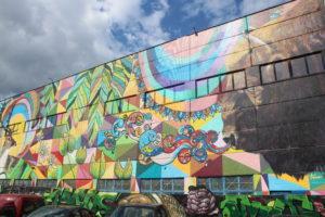 Murales a Minsk - 1