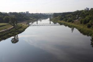 Scorcio del fiume Nemunas