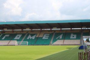 Scorcio dello stadio di Gomel