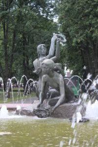 Venok Fountain - dettaglio