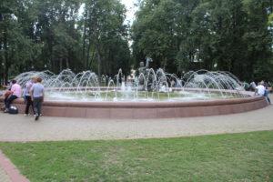 Venok Fountain - panoramica