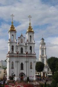 Voskresenskaya Church e Municipio - panoramica