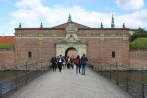 Castello di Kronborg - Ingresso alla cinta muraria