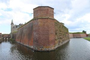 Castello di Kronborg - dettaglio delle mura