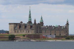 Castello di Kronborg - vista dal traghetto