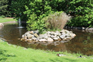 Fontana-Laghetto nello Slottshagen