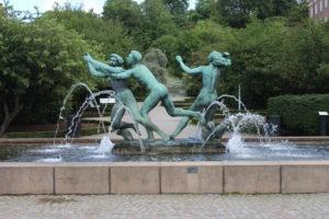 Fontana in Sankt Jorgens Plats