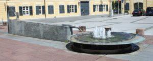 Fontana in Schlossplatz