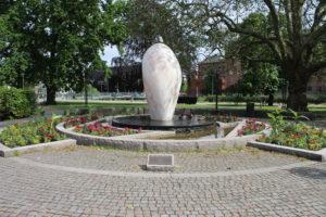 Fontana nel Raoul Wallenbergs Park