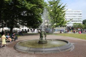 Gustav Adolfs Torg - fontana 2