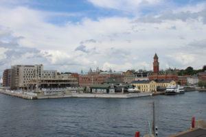 Helsingor - Vista dal traghetto