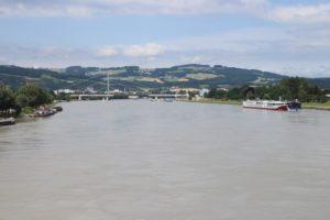 Il Danubio a Linz