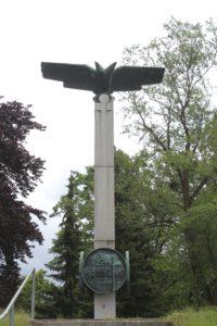 Monumento per le vittime delle guerre mondiali - panoramica