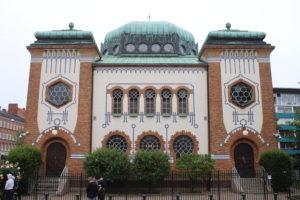Sinagoga di Malmo - vista frontale
