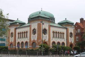 Sinagoga di Malmo - vista laterale