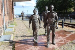 Statue dei lavoratori del cantiere navale - 1