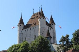 Castello di Thun visto da Burgstrasse