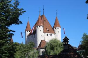 Castello di Thun visto dalla Chiesa Centrale
