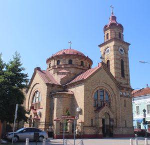 Cattedrale Ortodossa Rumena - fronte