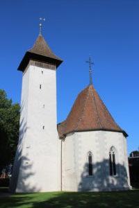 Chiesa Riformata Scherzlingen - retro