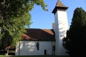 Chiesa Riformata Scherzlingen - vista laterale