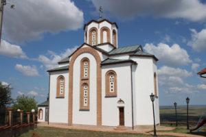 Chiesa di San Teodoro Vrsacko - retro
