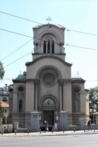 Chiesa di Sant'Alejksandr Nevskij - vista frontale
