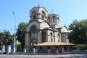 Chiesa di Sant'Aleksandr Nevskij - vista laterale