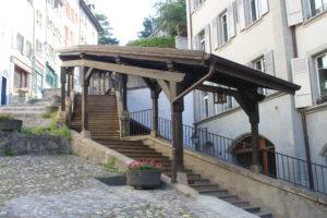 Esclaier du Marchè - primo tratto da Rue Mercerie
