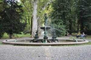 Fontana del Gradksi Park - panoramica