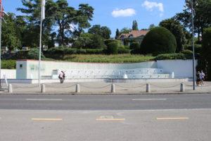 Fontana del Parco Olimpico - panoramica