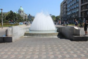 Fontana in Piazza Nikola Pasic - 1