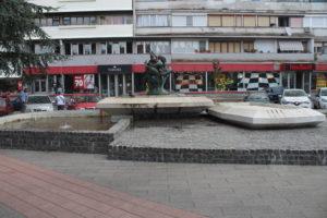 Fontana in Trg Pobede