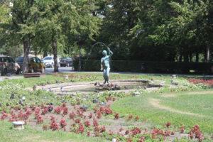 Fontana nel Dunavski Park