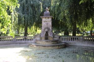 Fontana su Esplanades de Montbenon